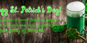 st patrick's day green beer cover photo