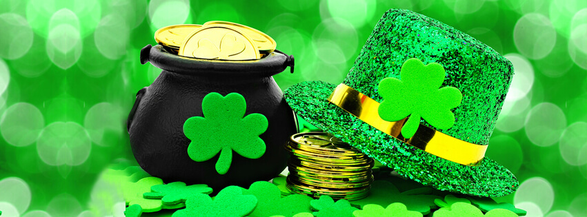st patrick's day hat cover photo