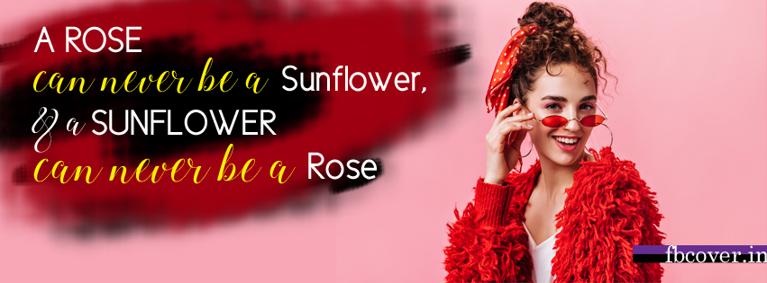 a rose can never be a sunflower quote, model quotes