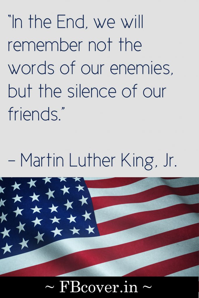memorial day martin luther quotes
