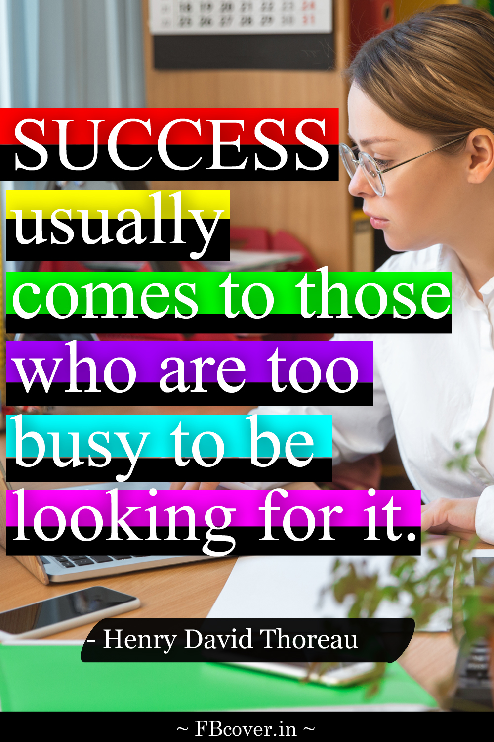 success usually comes to those, success quotes for students, henry david thoreau quotes success