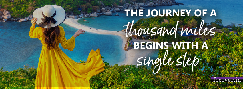 the journey of thousand miles quote
