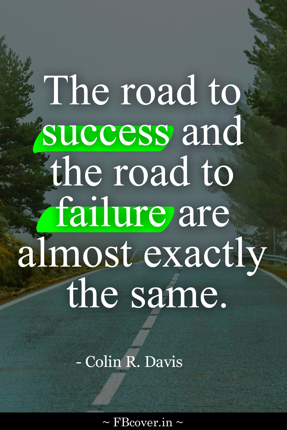 the road to success quotes, colin r davis quotes