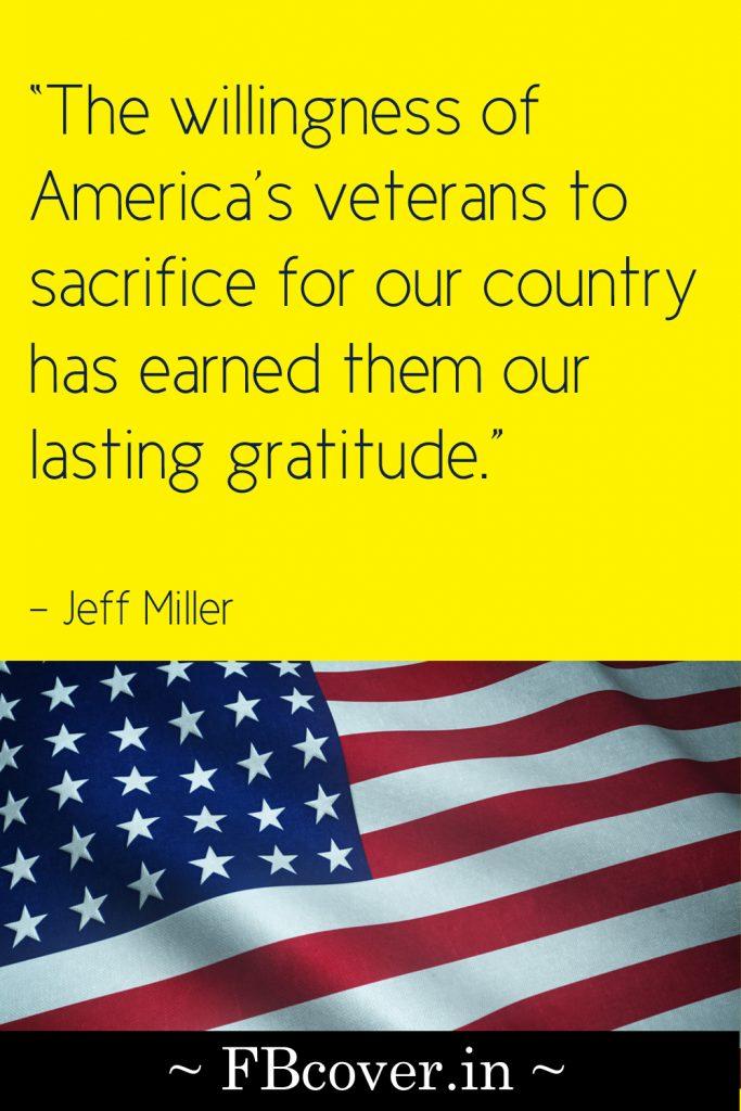 the willingness of america's veterans to sacrifice